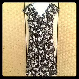 Womens Ann Taylor Loft Lined Dress Size 6